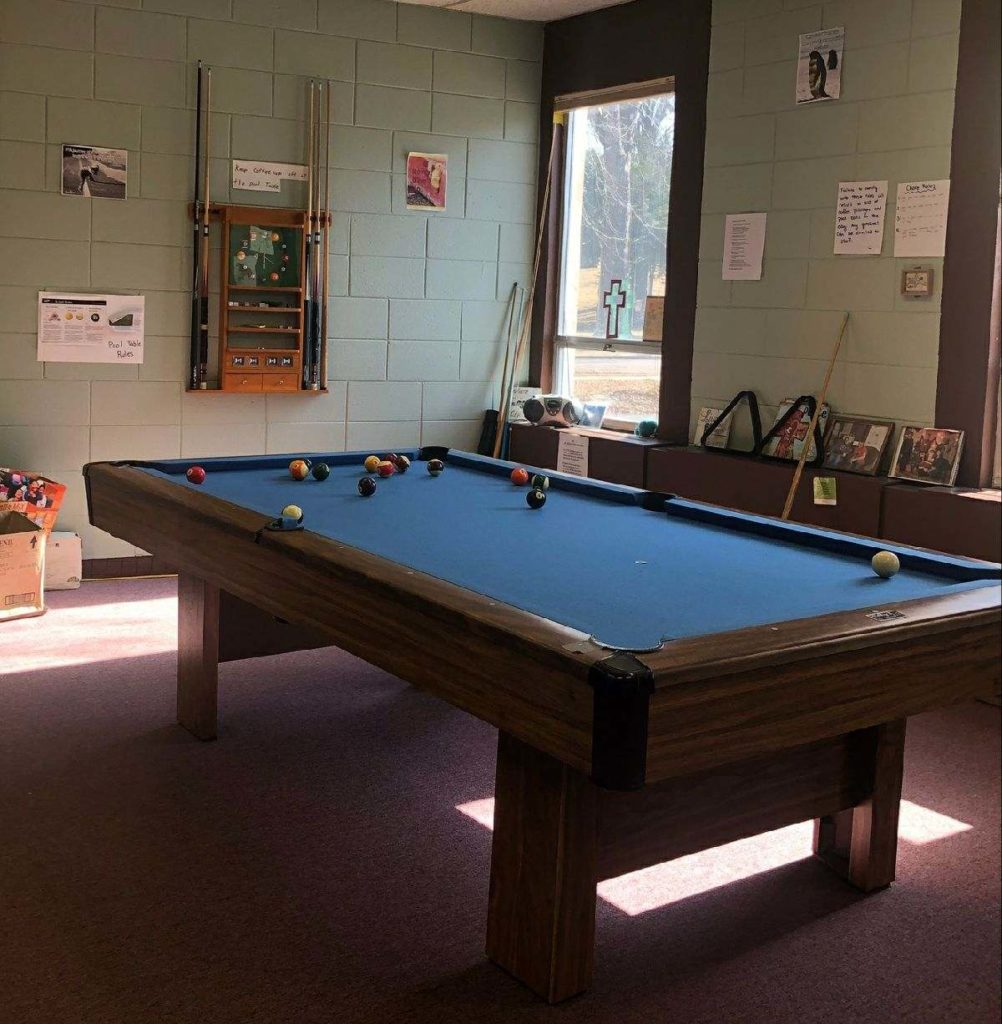 Picture of the RCC Pool Table
